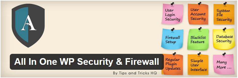 WordPress › All In One WP Security Firewall « WordPress Plugins