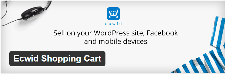 WordPress › Ecwid Shopping Cart « WordPress Plugins