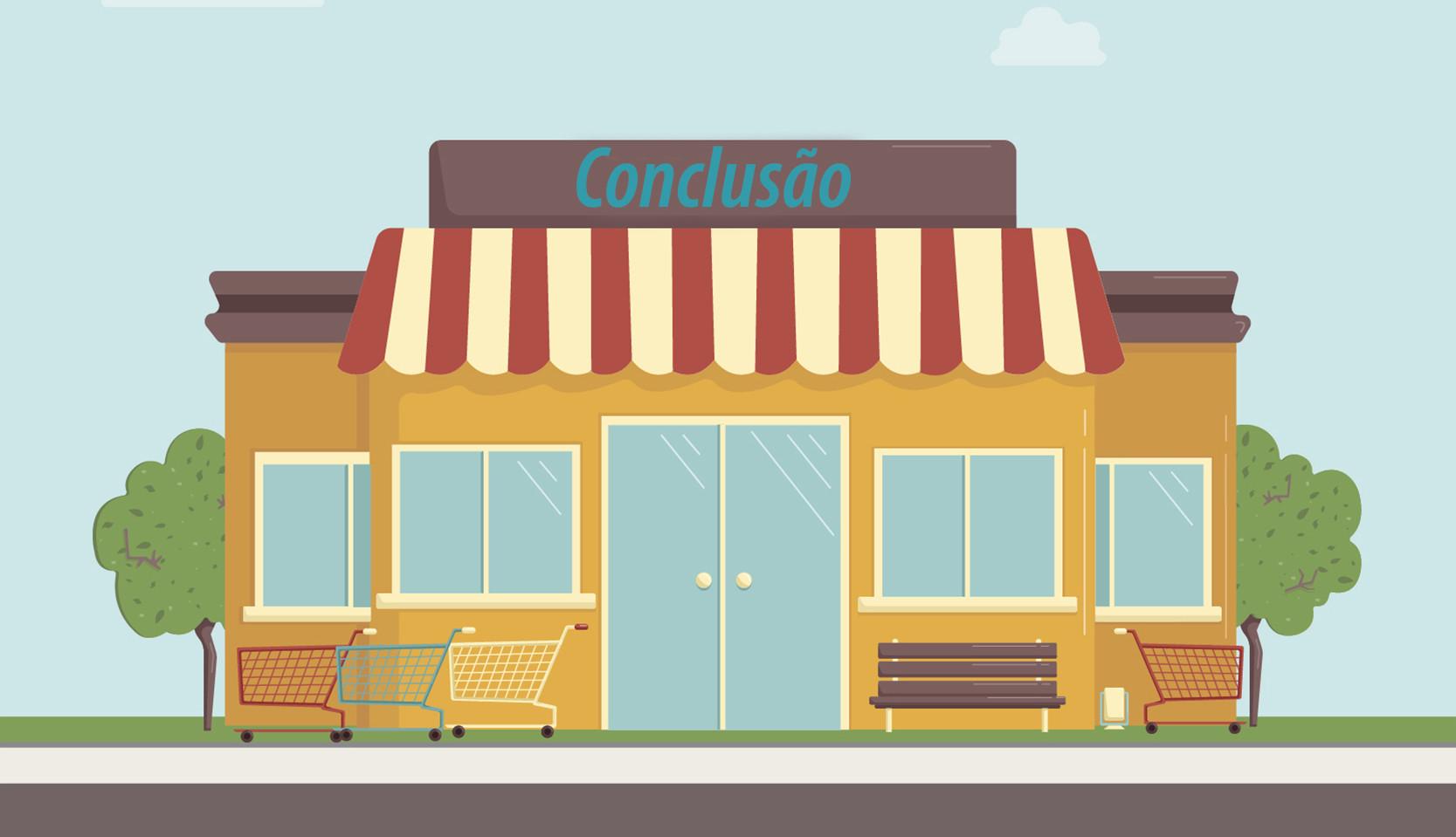 conclusão wordpress loja online virtual e-commerce