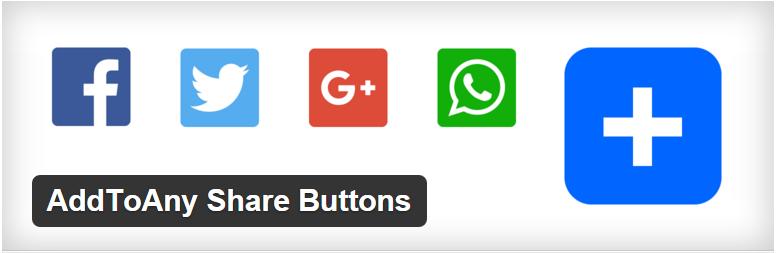 addtoany share buttons blog wordpress social plugins