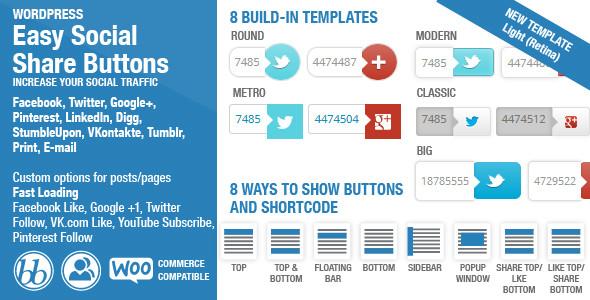easy social share buttons wordpress social plugins blog