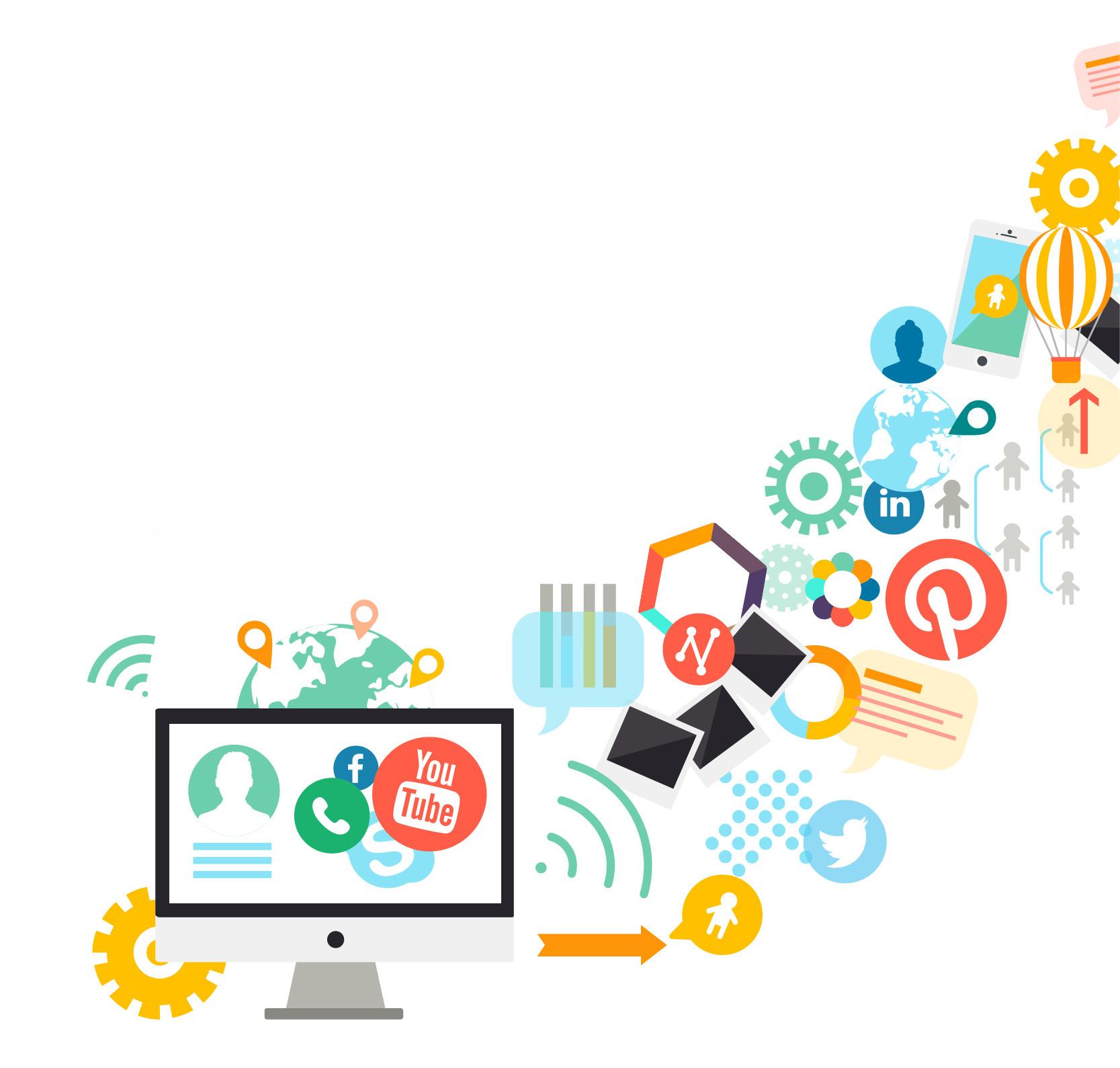 wordpress social plugins blog compartilhamento mídia social redes sociais