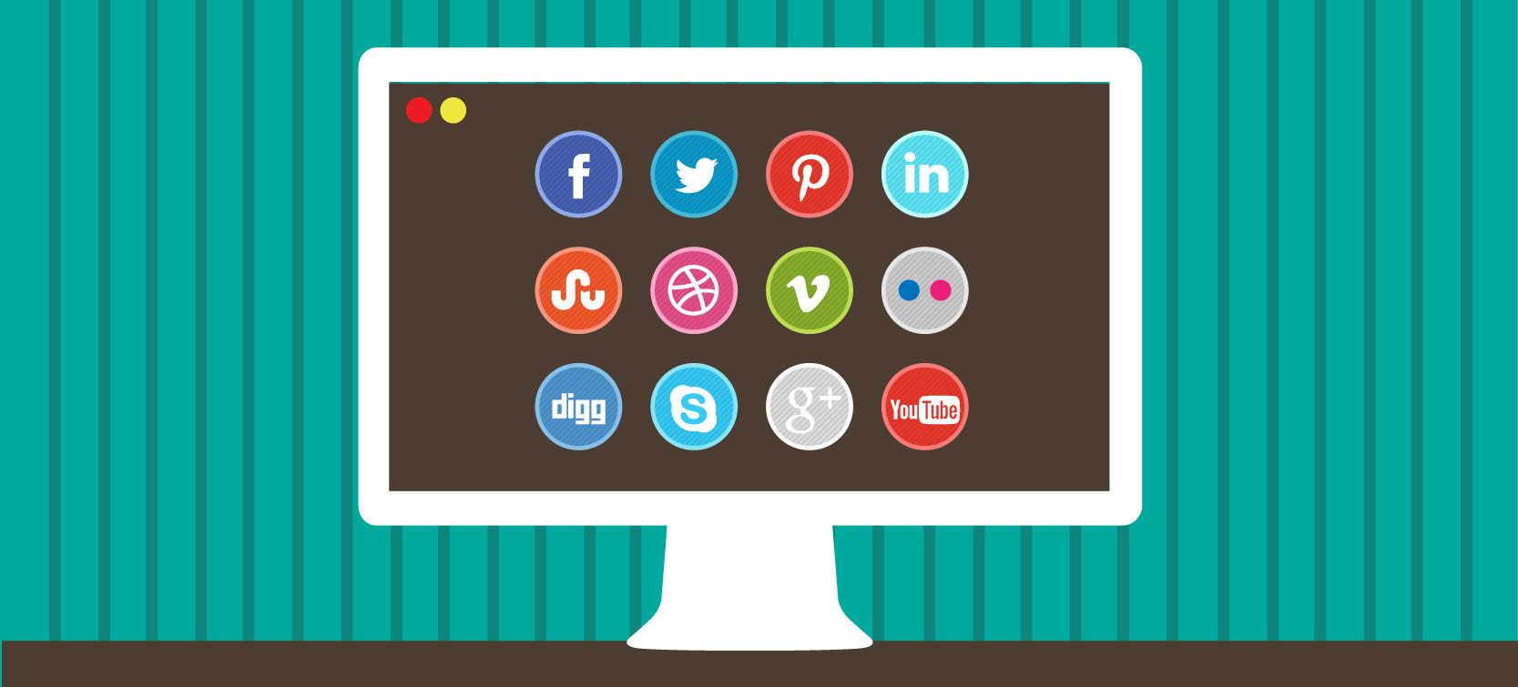 wordpress social plugins compartillhamento mídia soacial blog