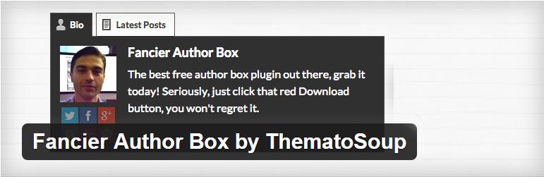 Top Plugins WordPress Author Box Plugin Autor Bio Box