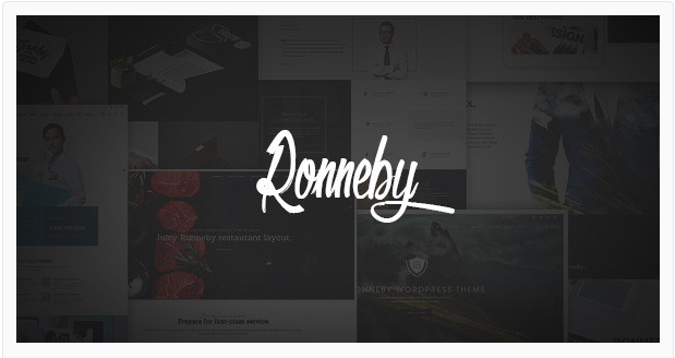 ronneby wordpress templates blogs temas wp