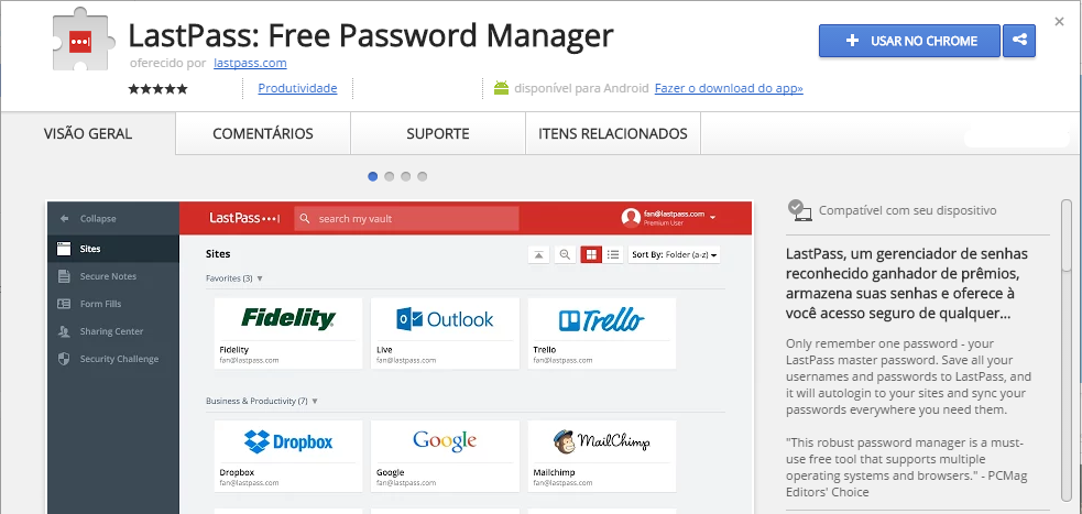 LastPass Free Password Manager Chrome Web Store chrome --allow-file-access-from-files