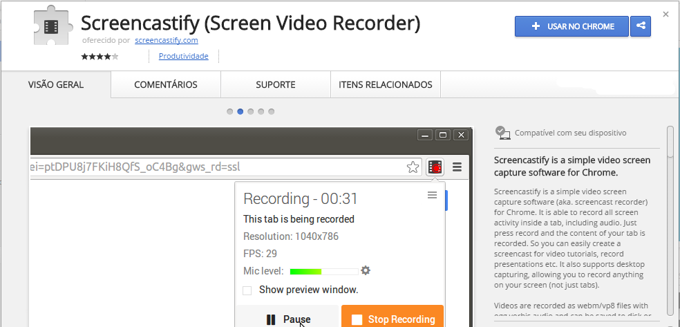 Screencastify Screen Video Recorder Chrome Web Store