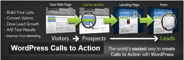 WordPress Calls to Action — WordPress Plugins -- Chamadas Para Ação -- Call To Action