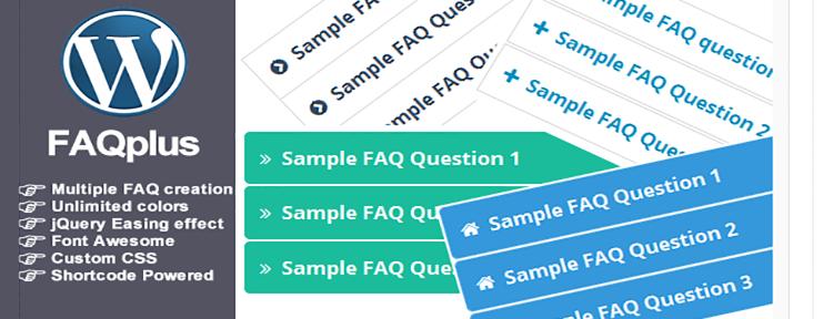 FAQPlus WordPress FAQ Plugin WordPress CodeCanyon