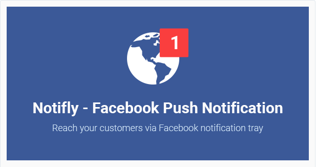 Notifly Facebook Push Notification WordPress Plugin facebook autoresponder