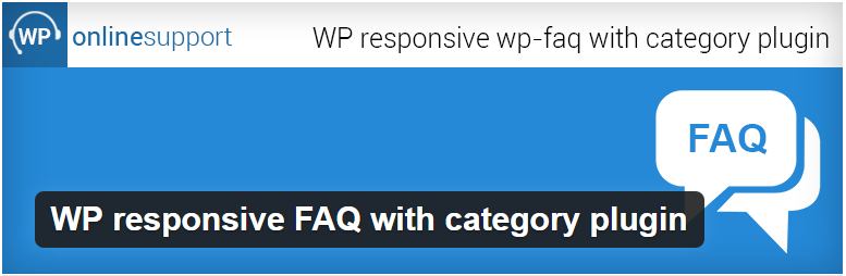 WP responsive FAQ with category plugin — WordPress Plugins