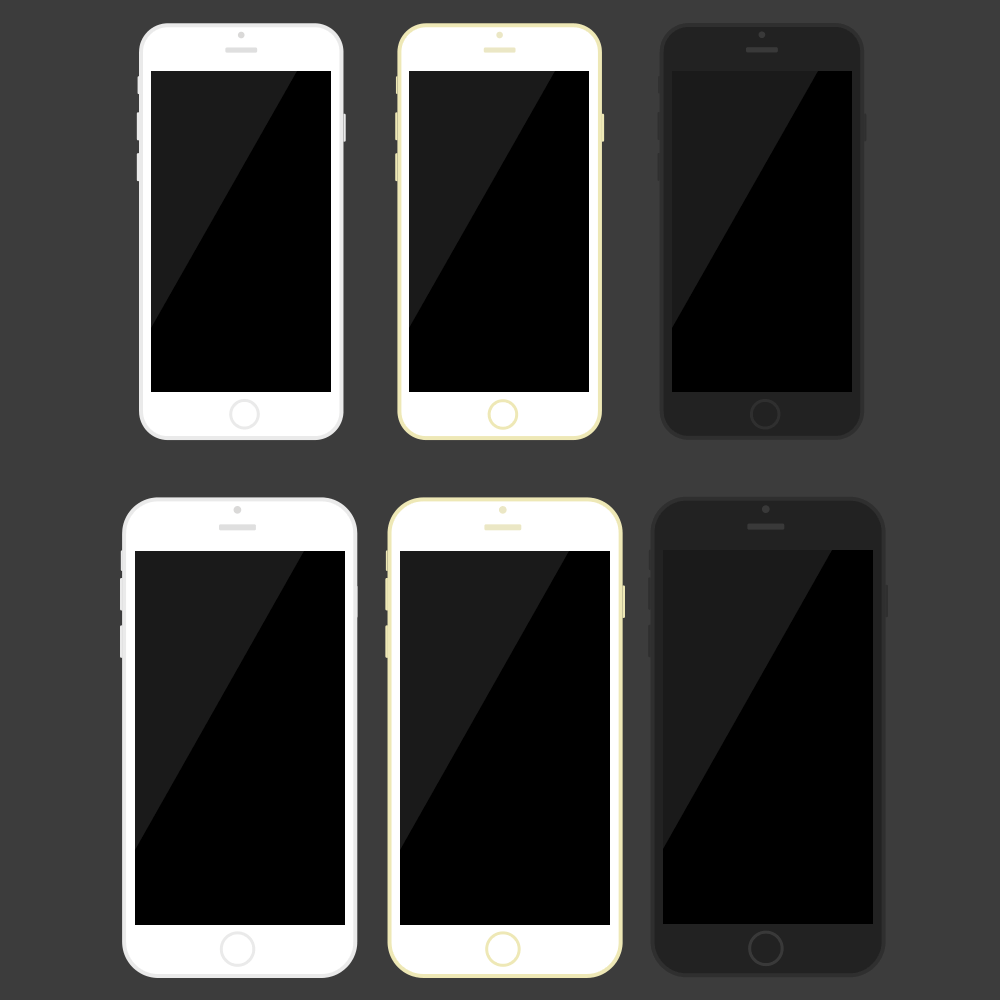 Flat_iPhone6_PSD_Template_Iphone Psd