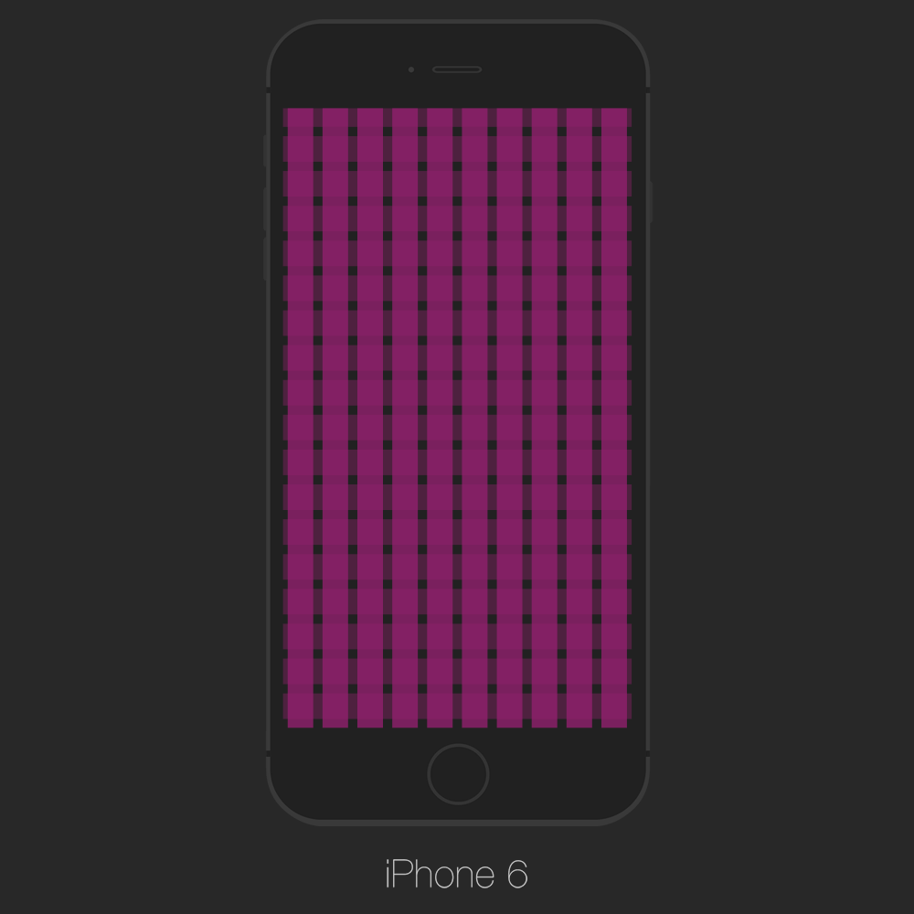 Grid_iPhone6_PSD_Template_Psd Iphone