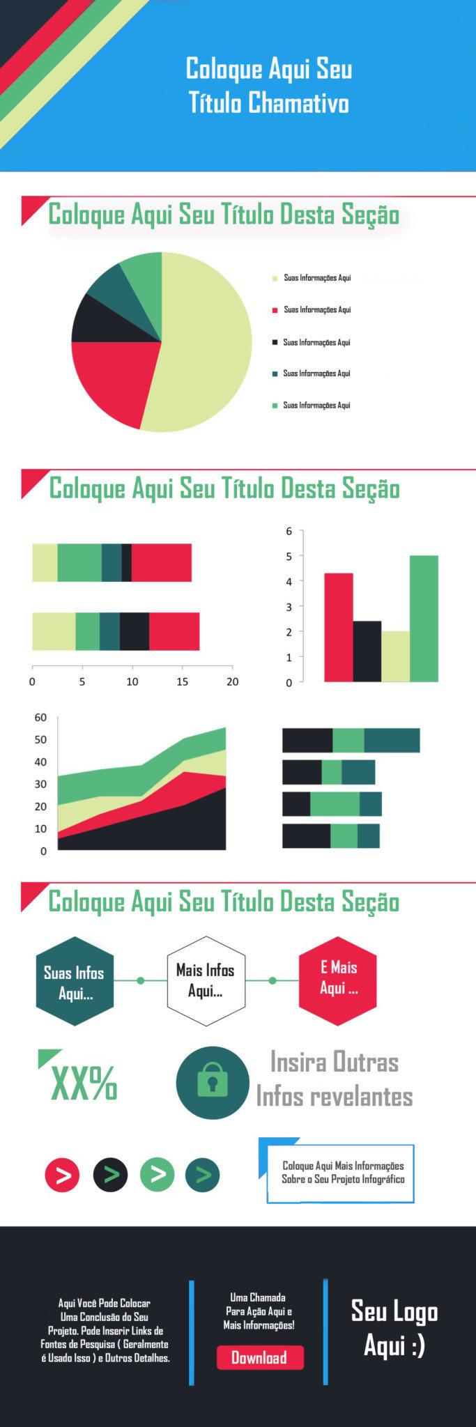 Infográficos - Download Template1-como criar um infográfico