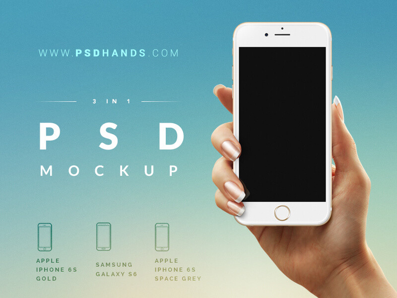 iphone design psd