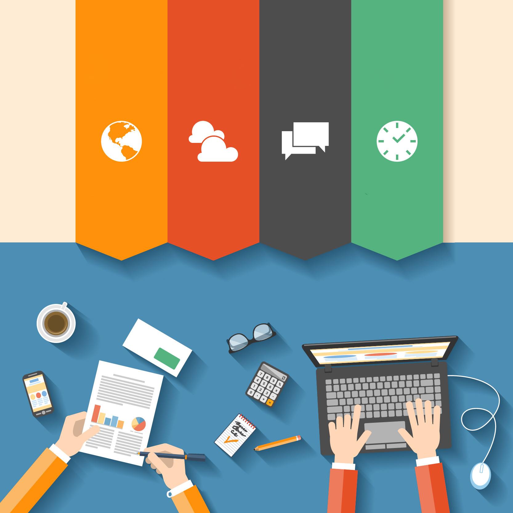 infográficos - como montar um infográfico, curriculo, apresentações, cartões de visitas e mais