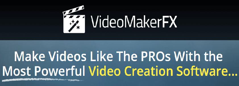VideoMakerFX Amazing Video Creation Software videos de marketing