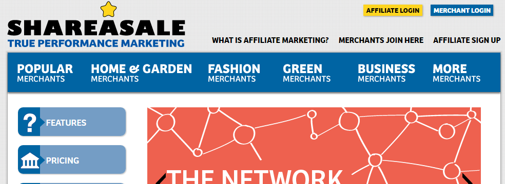 shareasale rede de afiliados