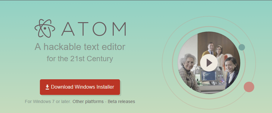 atom editor html