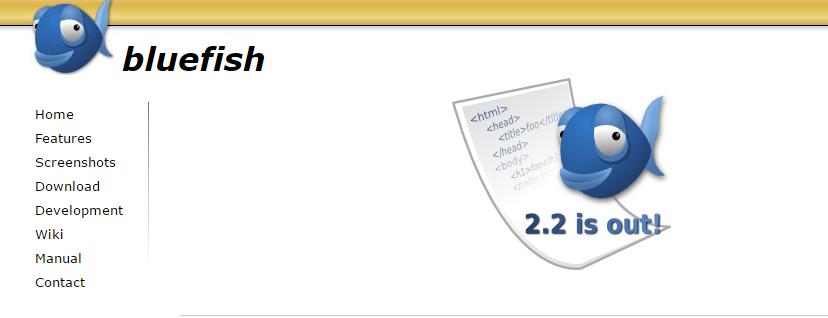 bluefish editor html online