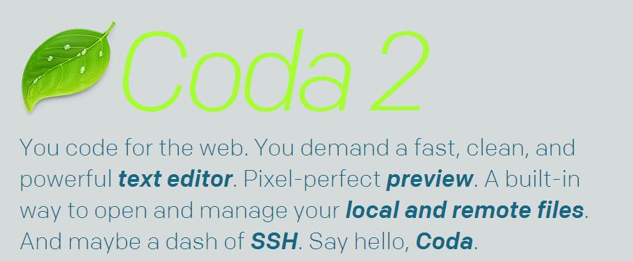 coda editor de texto online