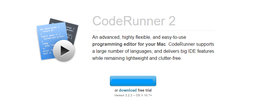 coderunner programming editor for mac editor html gratis