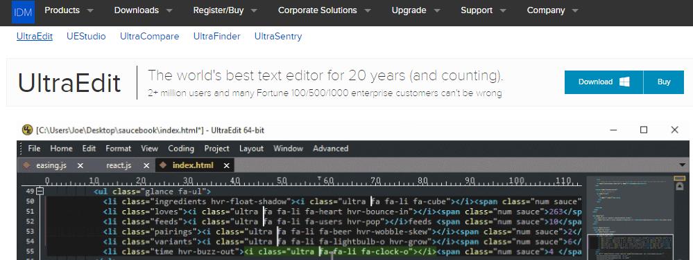 ultraedit html editor online