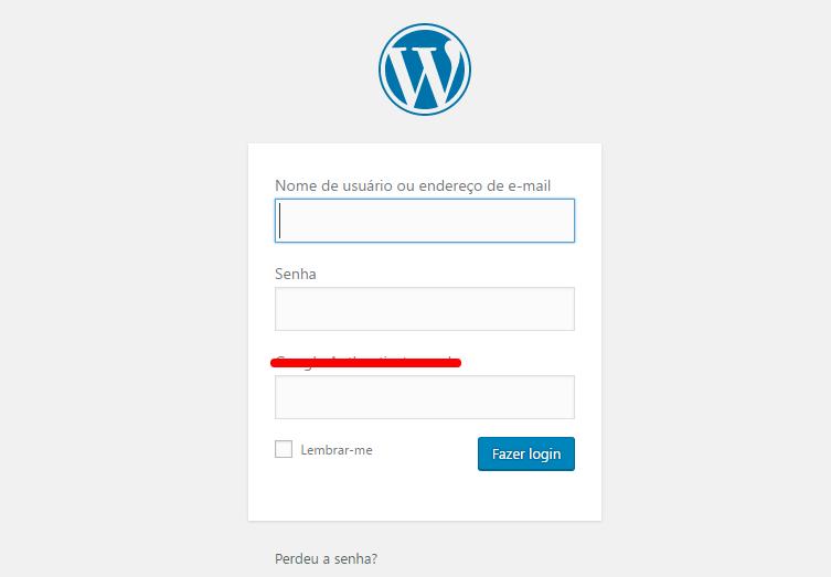 Como Fazer login no WordPress Admin