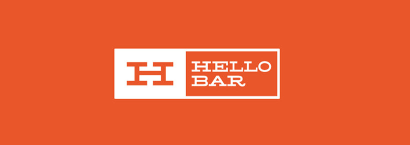 hellobar action opt in box bar