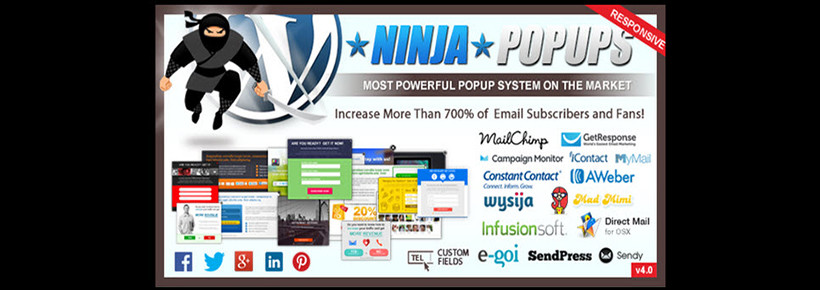 ninja-popups optin box email marketing