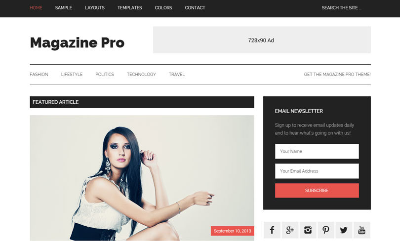 studio press temas wordpress magazine pro