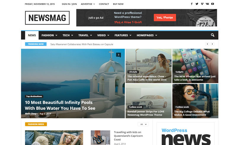 template wordpress seo newsmag