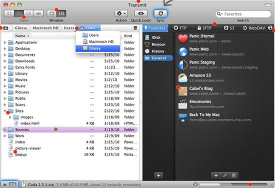 trasmit cliente frp free para mac
