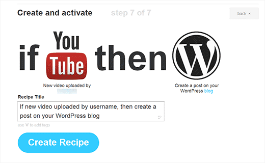 integrar wordpress com youtube