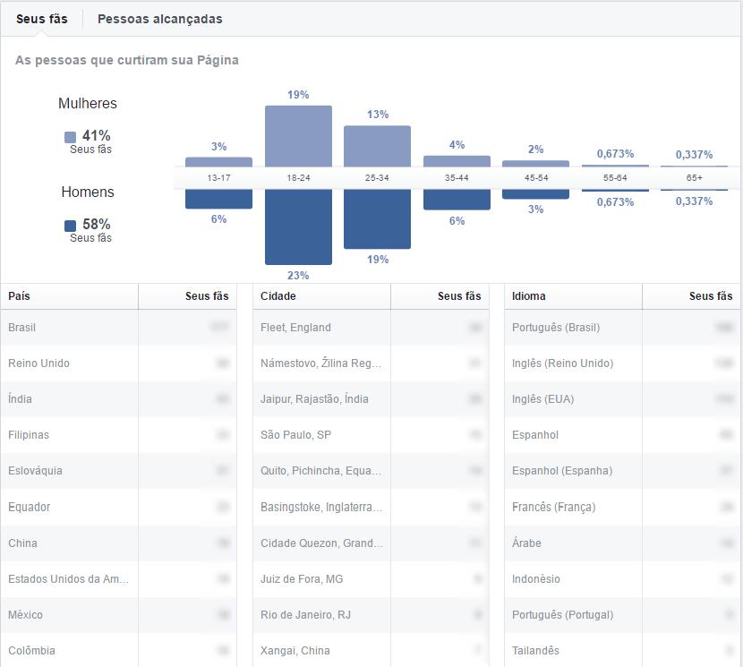 marketing no facebook informações