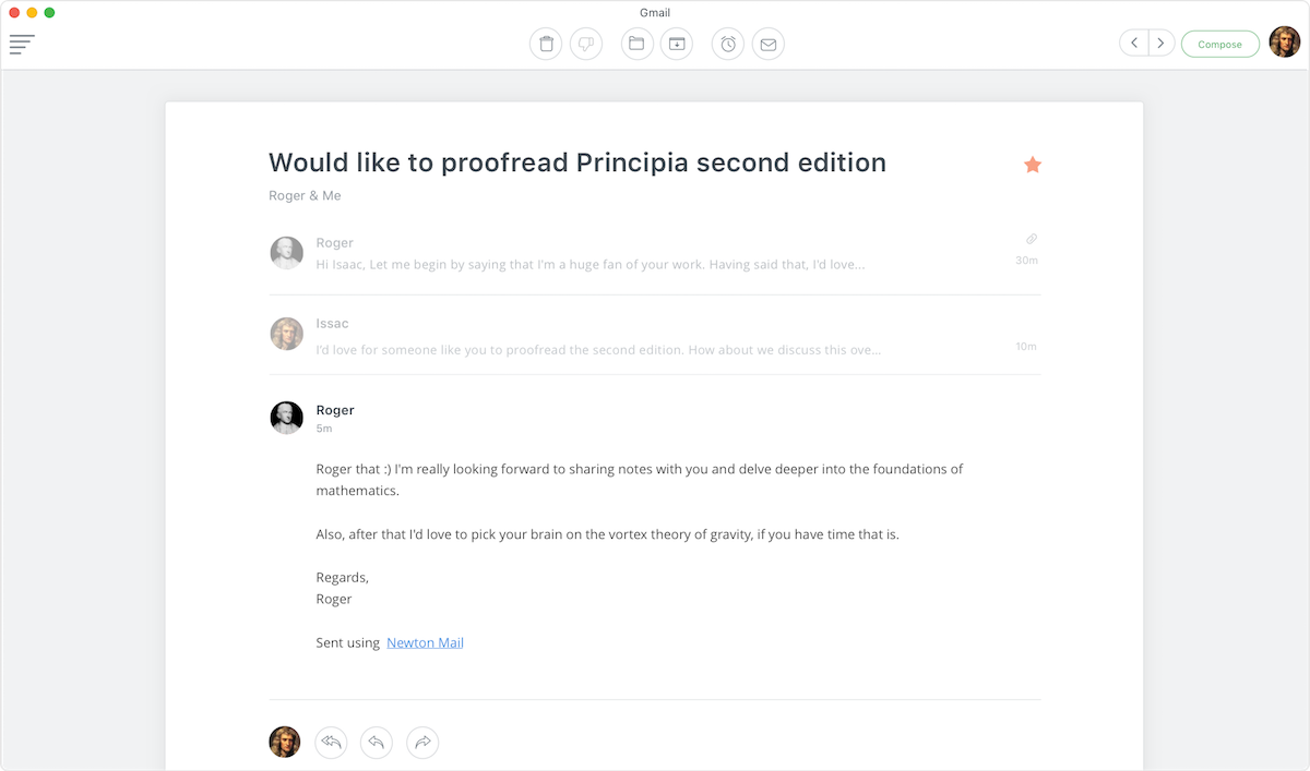 aplicativo de email top