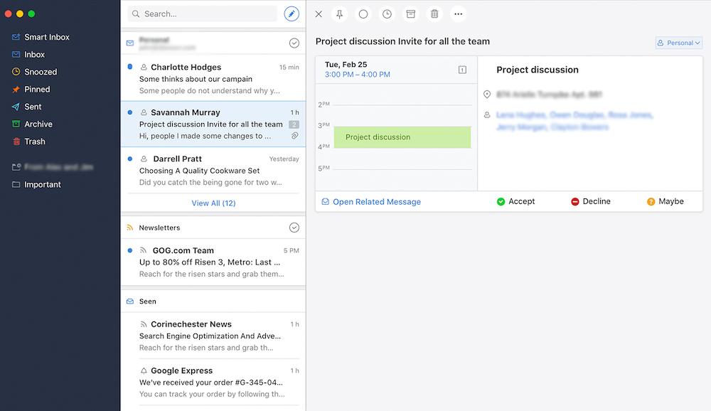 app para emails
