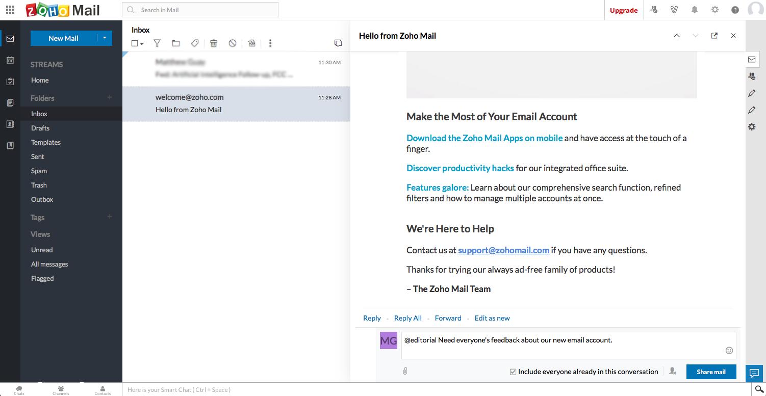 como gerenciar meus emails via app