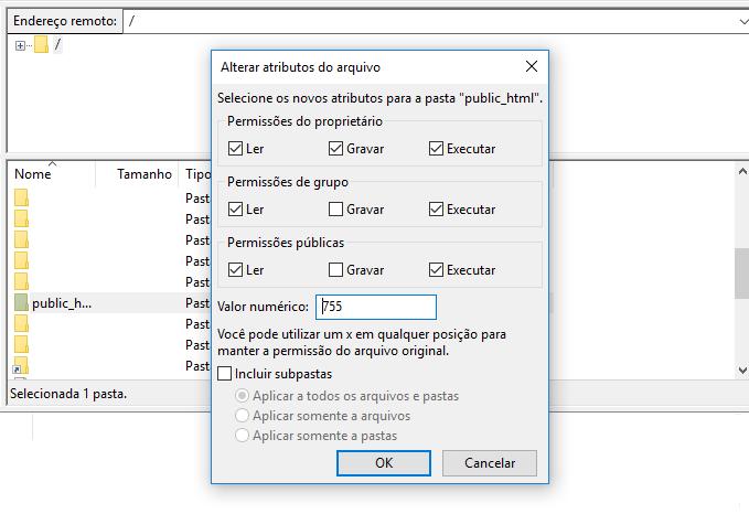 encontrar arquivo htaccess public_html