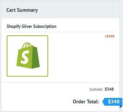 cart shopify