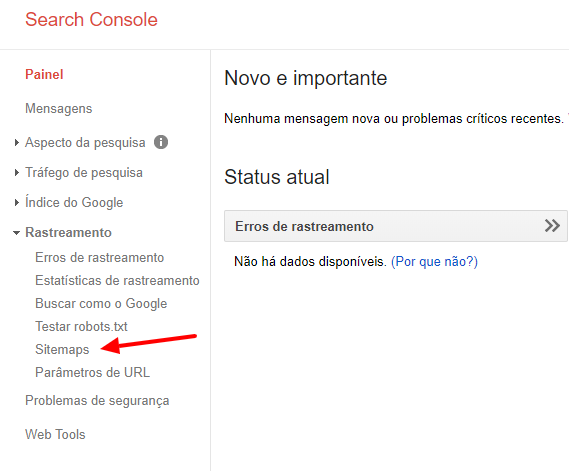 Search Console google xml sitemaps
