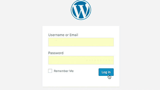 Página de Login do WordPress Recarregando e Redirecionando para o mesma página