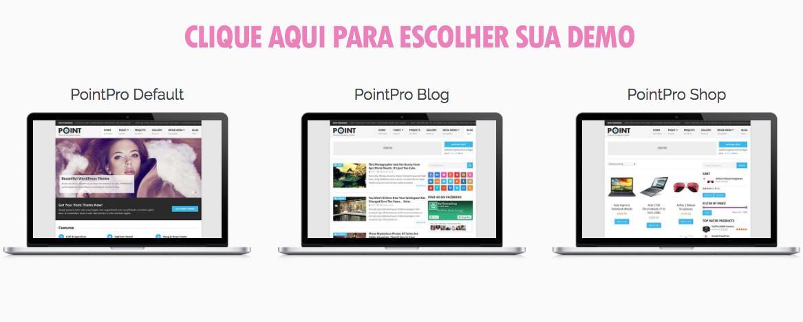 PointPro MyThemeShop Demos Templates WordPress